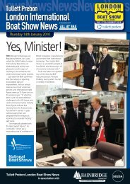 Yes,Minister! - London Boat Show