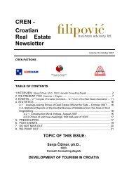 CREN - Croatian Real Estate Newsletter