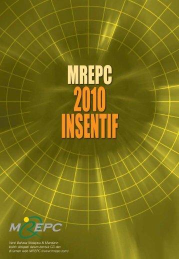 insentif bagi penyertaan dalam pameran perdagangan ... - Mrepc.com