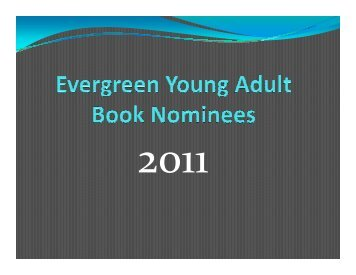 Evergreen Awards 2011