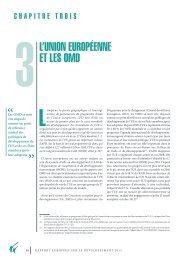 l'union européenne et les omd - European Report on Development
