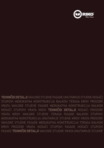Tehnička brošura - Riko hiše