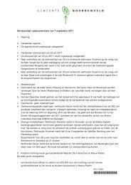 besluitenlijst raadsvergadering 7-9-11, vaststelling.pdf - Bestuur ...