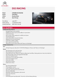 DS3 RACING BLACKweb page