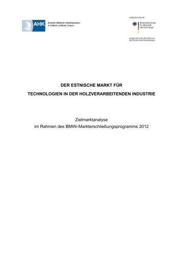Zielmarktstudie Estland - iXPOS