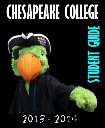 Student Guide (PDF) - Chesapeake College