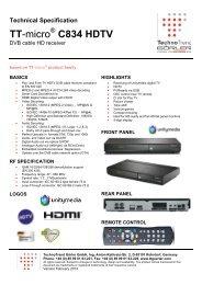 TT-micro C834 HDTV - TechnoTrend Görler TechnoTrend Görler