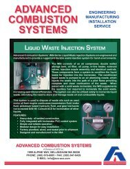Liquid Waste Injection System - ACS, Inc