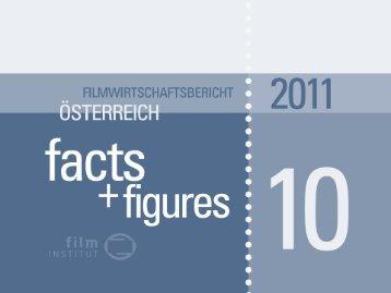 Filmwirtschaftsbericht – facts+figures 2010 - Filmsupport