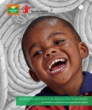 Cenário da infânCia e da adolesCênCia no Brasil - Fundação Abrinq