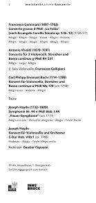 VENICE BAROQUE ORCHESTRA - Meister & Kammerkonzerte - Seite 2