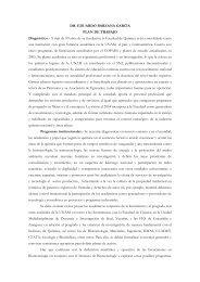 DR. EDUARDO BÁRZANA GARCÍA PLAN DE TRABAJO ...