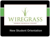 here - Wiregrass Georgia Technical College