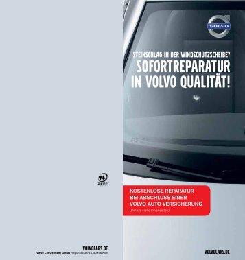 Informationsbroschüre bei Glasreparaturen - Autohaus Haese GmbH