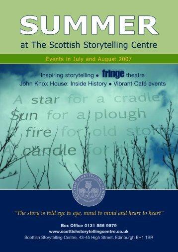 SUMMER - Edinburgh UNESCO City of Literature