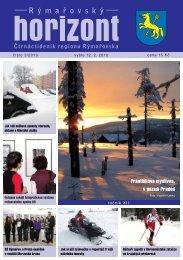 Rýmařovský horizont 3 - 2010 - Středisko volného času Rýmařov