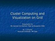 Deep Computing and Visualization Laboratory - Garuda