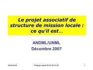 Diaporama Ph Labbe 04-10-2007 - ANDML