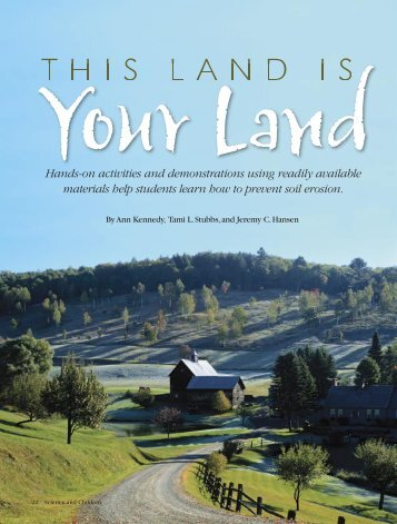 This Land is Your Land - Agricultural Research Service