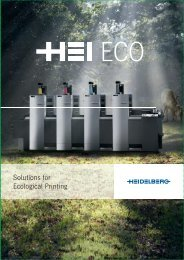 Solutions for Ecological Printing