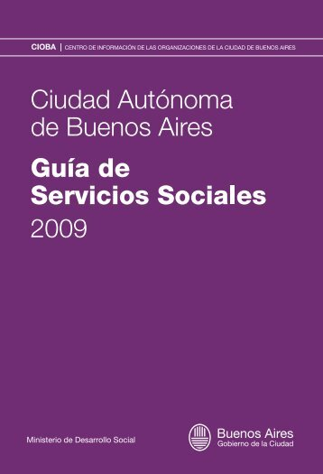 Ministerio de Desarrollo Social - Buenos Aires Ciudad