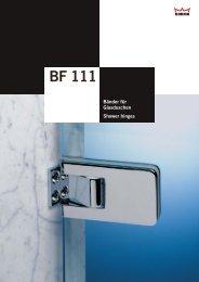 BF 111 - DORMA Interior Glas