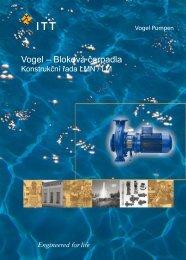 Vogel – Bloková čerpadla, konstrukční řada LMN / LM