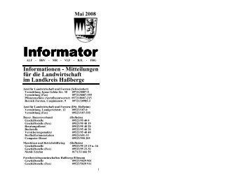 (Neu)! - Amt für Ernährung, Landwirtschaft und Forsten Schweinfurt ...