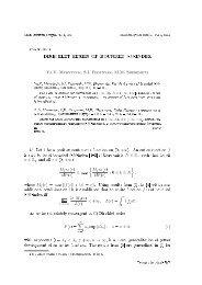 DIRICHLET SERIES OF BOUNDED l-M-INDEX - Matematychni Studii