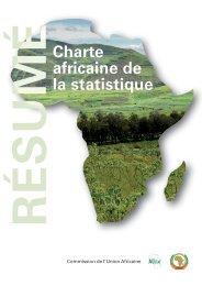 Charte africaine de la statistique - African Union