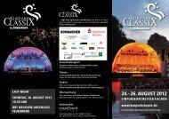 24.- 26. AUGUST 2012 - creatEvent