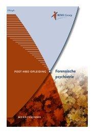 Forensische psychiatrie - RINO Groep
