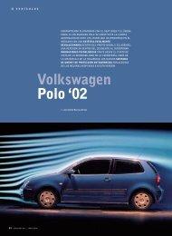 Volkswagen Polo '02 - Recambio Facil
