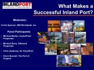 What Makes a Successful Inland Port? - The Georgia Center of ...