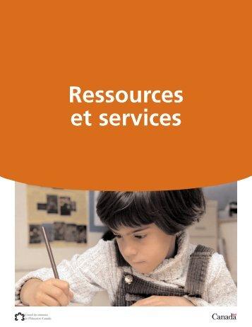 Ressources et services.qx