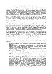 Práce na zkrácenou pracovní dobu v SRN - Výzkumný ústav práce a ...