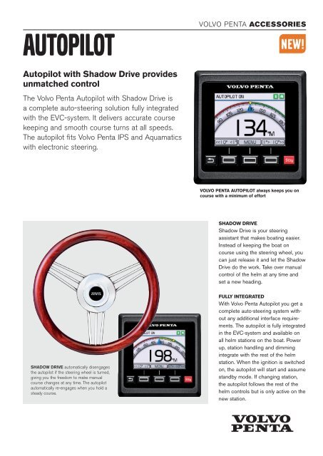 autopilot with Shadow drive provides unmatched control