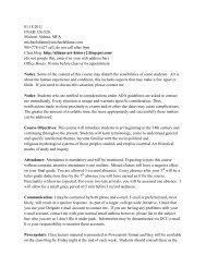 Delgado Art History II Syllabus.pdf - MichaelAldana.com