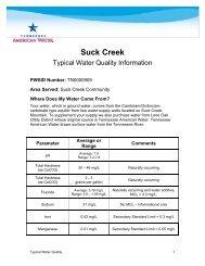 Insert Correct Date - American Water