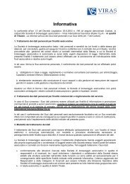 Informativa - Sapienza
