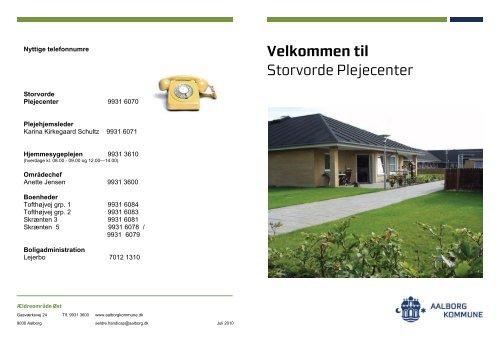 velkomst hæfte storvorde plejecenter 3 - Aalborg Kommune