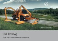 Der Unimog. - Mercedes-Benz Deutschland