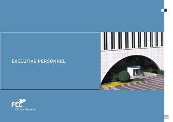 EXECUTIVE PERSONNEL - FCC
