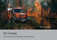 Der Unimog. - Mercedes-Benz Polska