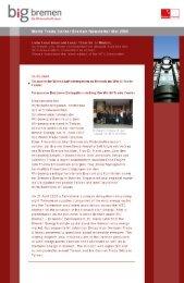 Newsletter WTC Bremen (May 2009)