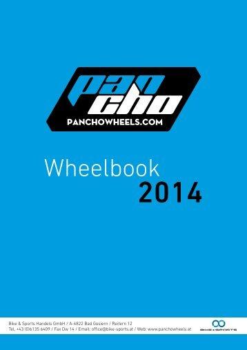 Hier geht´s zum Panchowheels Wheelbook 2014 - Bike und Sports