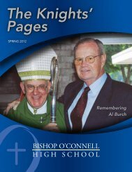 available online - Bishop O'Connell High School