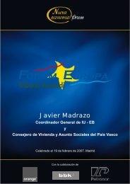 Javier Madrazo - Nueva Economía Fórum