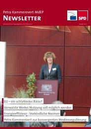 Infobrief Ausgabe 10 - 2012 - Petra Kammerevert