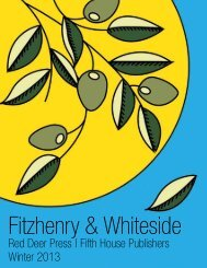 2013-2014 Catalogue - Fitzhenry and Whiteside